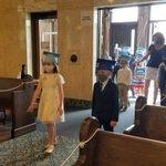 Image for the Tweet beginning: Kindergarten graduation today! A wonderful