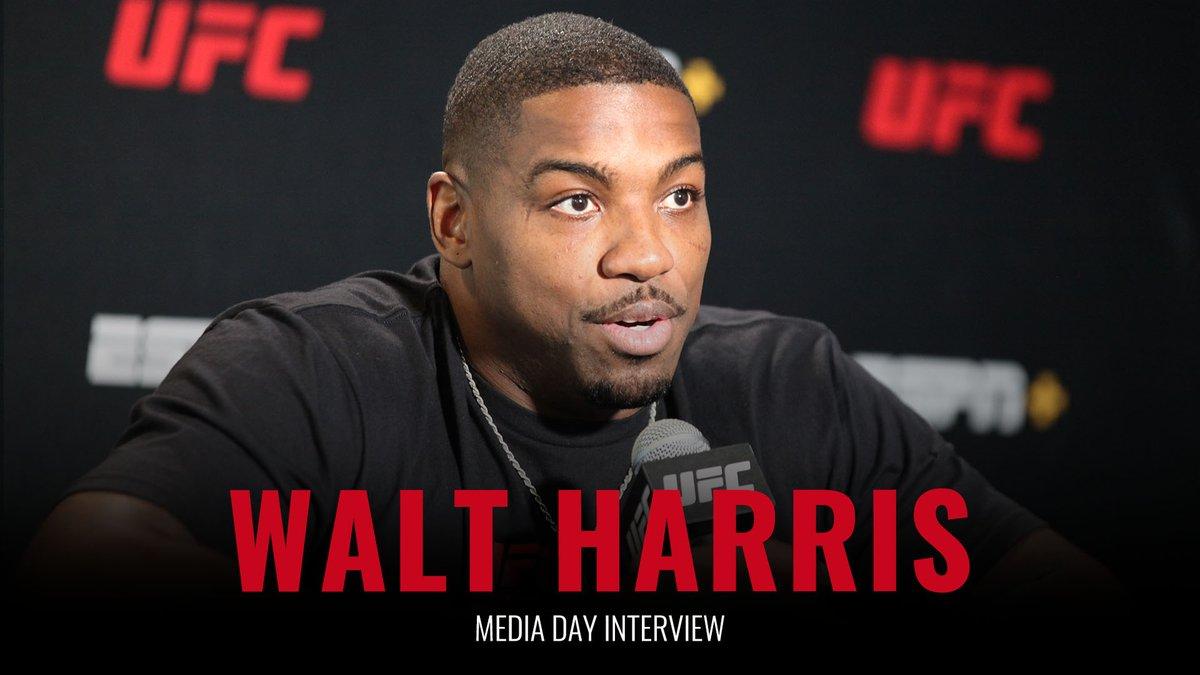 #UFCVegas28 media day interview  Walt Harris (@thebigticket205)  📽️ https://t.co/agAYgZvqJp https://t.co/GuoLIPge4S