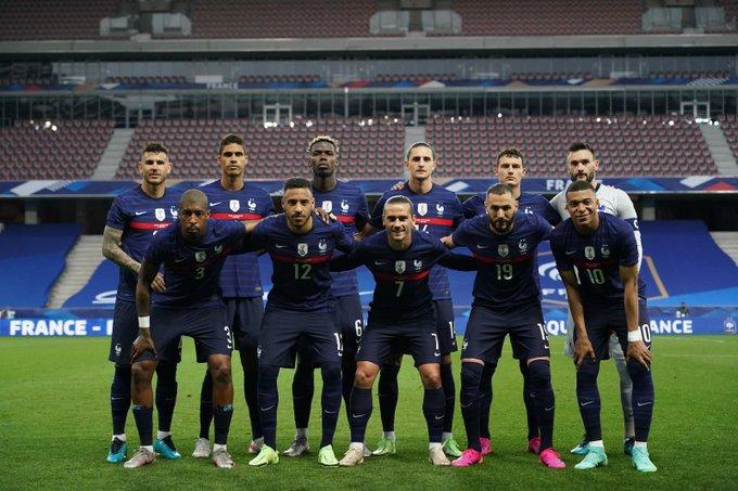 Skuad starter XI Timnas Prancis