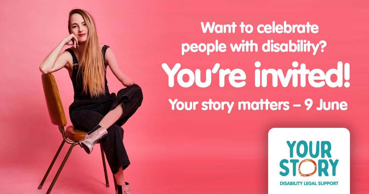 We're involved in this event as part of the Your Story Disability Legal Support team. It promises to be a fun night - come along! https://t.co/FIvEN1OC55 https://t.co/eNlVblaqbs