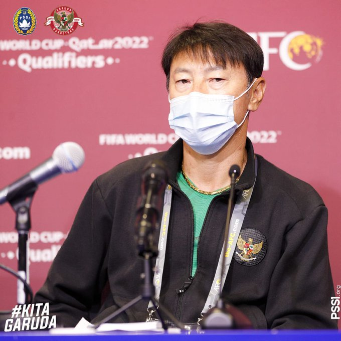 Pelatih Timnas Indonesia Shin Tae-yong