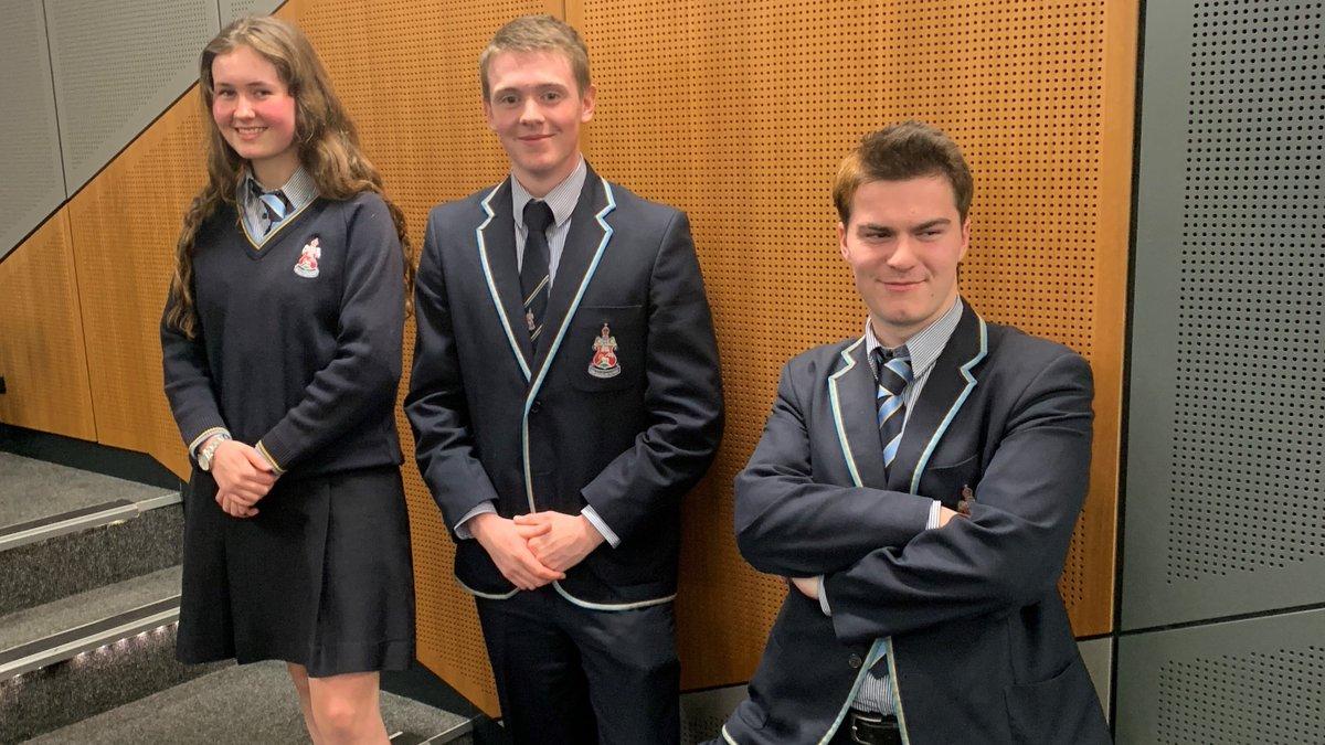 Huge congratulations to CGS Senior students Aliqua, Rob, and Matt for winning the ACT Debating Championship!