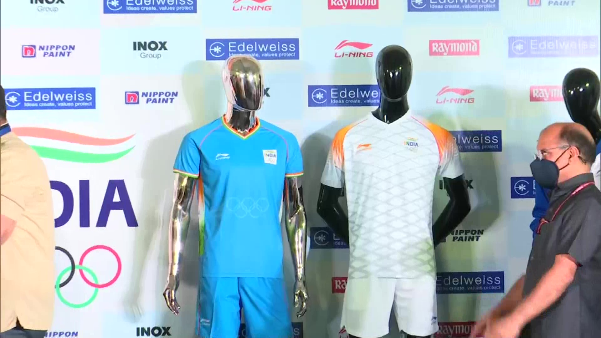 Kiren Rijiju unveiled India uniform for Tokyo Olympics 2020, an upcoming international multi-sport event scheduled to be held from July 23.