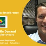 Image for the Tweet beginning: 🚩✅ Bienvenue à Durand Imprimeurs.