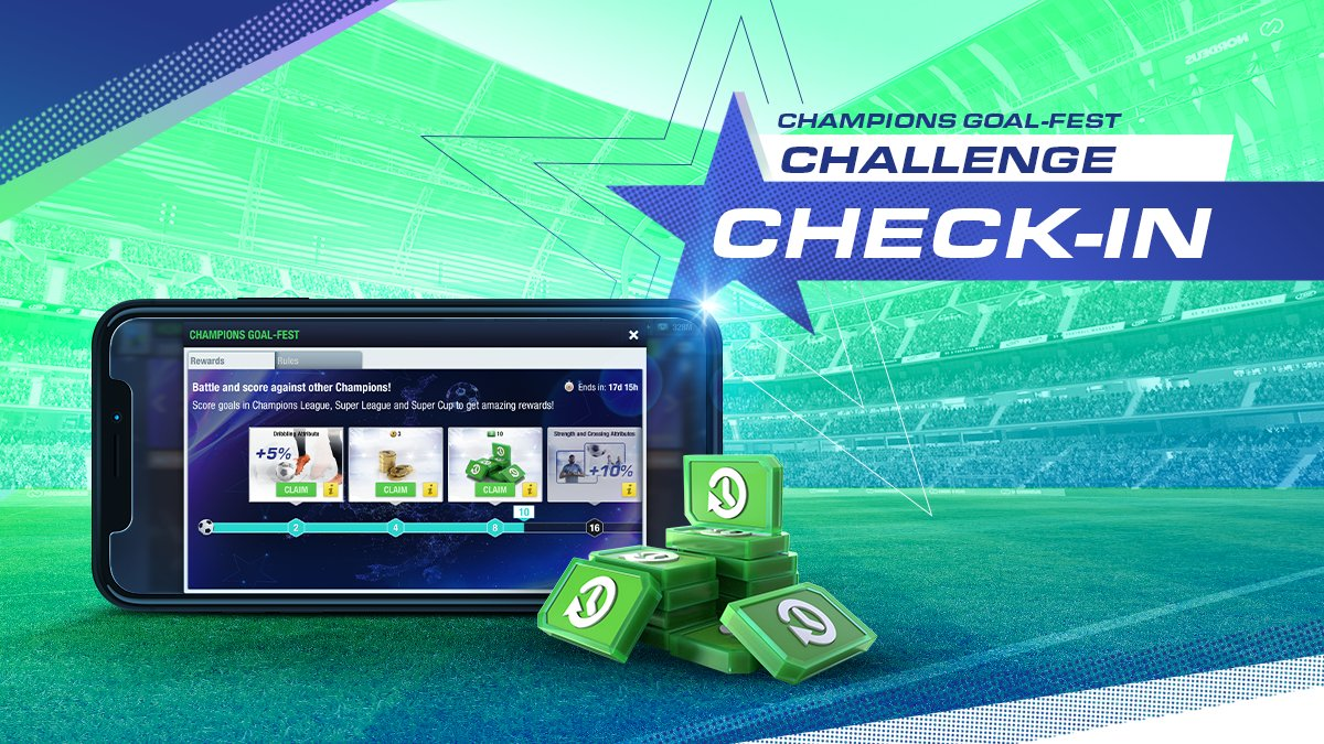 Every goal in the Champions/Super League and Super Cup counts! 🥅⚽️  How many milestones have you reached in the Champions Goal-Fest challenge so far? #TopEleven https://t.co/VGrXbYAv90