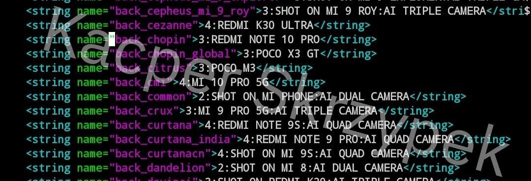 codigo fuente POCO X3 GT