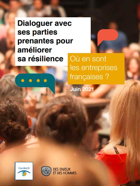 Dialoguer avec ses parties prenantes pour améliorer sa résilience, où en sont les entreprises françaises ?