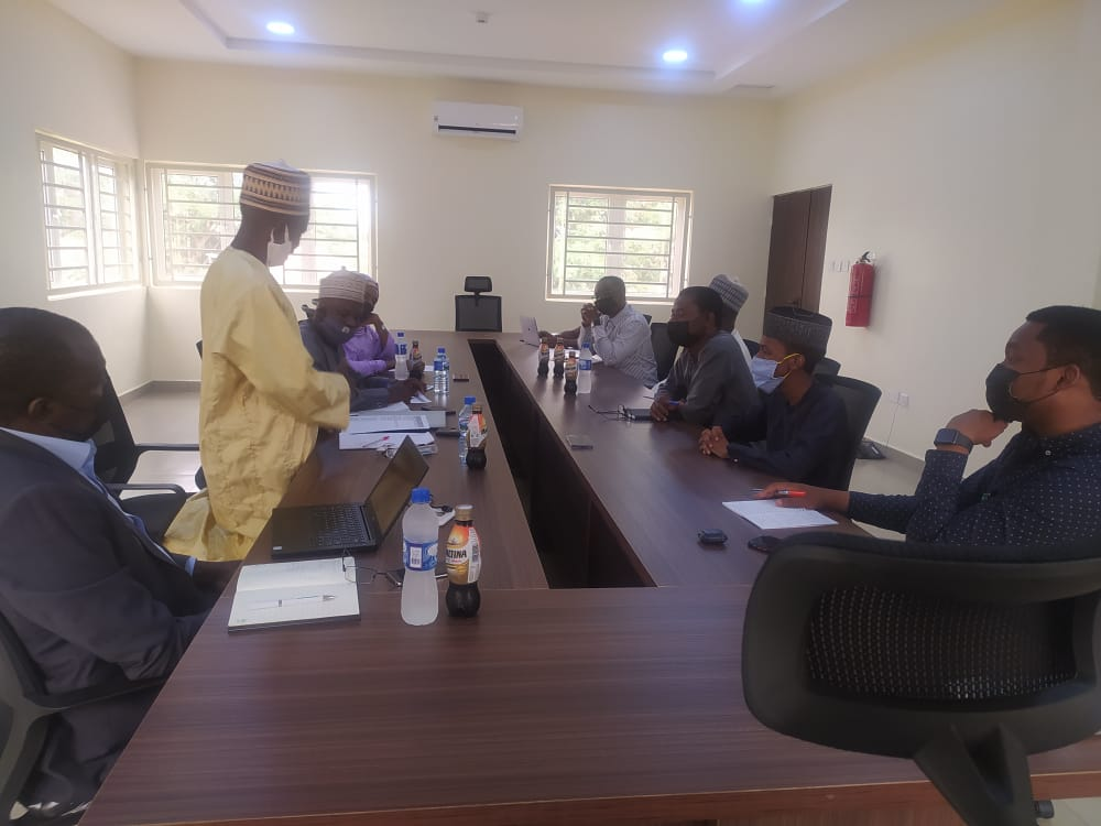 Today, we hosted the consultants to the International Finance Corporation (IFC), who are in Kaduna to conduct a social impact assesment on the OCP Africa Fertilizer Blending Plant.