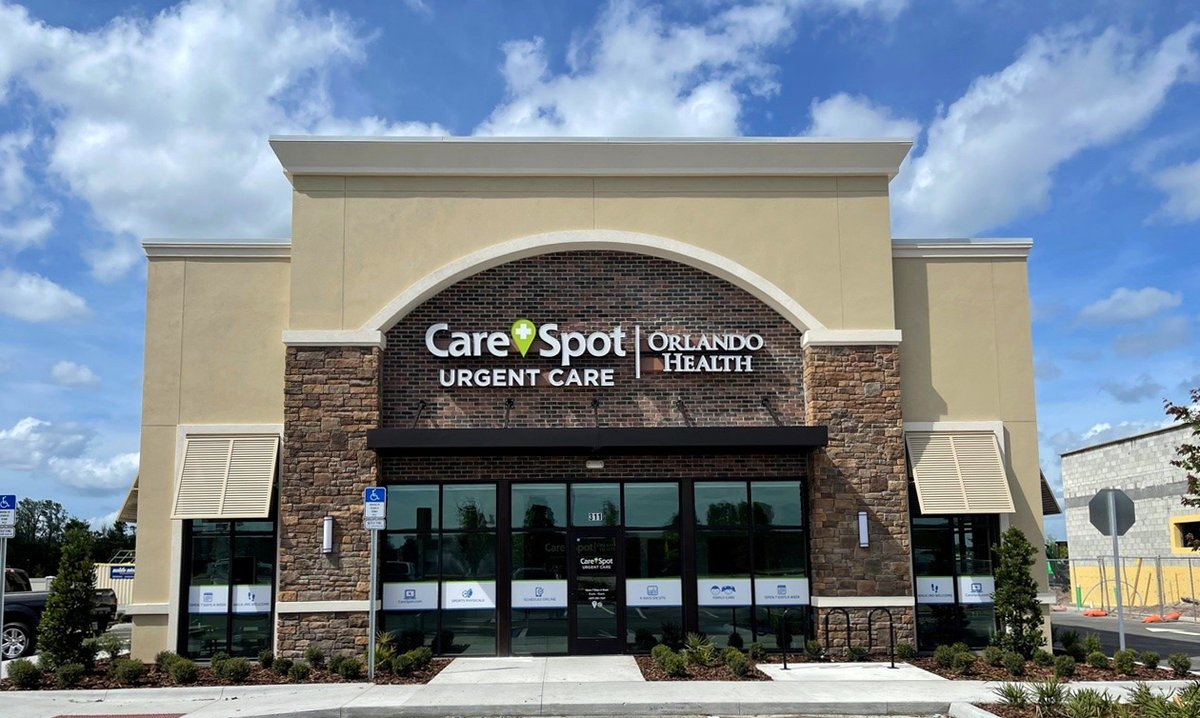 The newest CareSpot Urgent Care - Orlando Health #urgentcare center is now open in the Avalon Park neighborhood, joining 12 existing co-branded locations in the Orlando area! This location can #treat a range of #conditions and has extended hours of operation. #ChooseOrlandoHealth https://t.co/L5ckf8ab0j