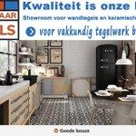 Image for the Tweet beginning: Haar Tegels 🟨🟥🟦 Zoetermeer regio