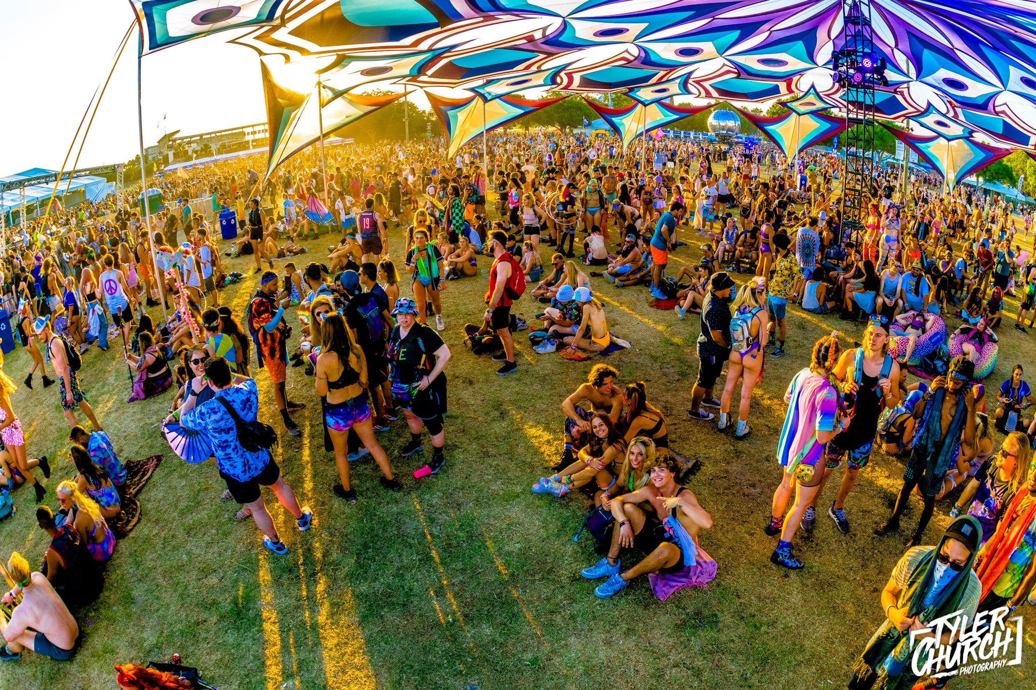 Sunset Music Festival 2021 Tents