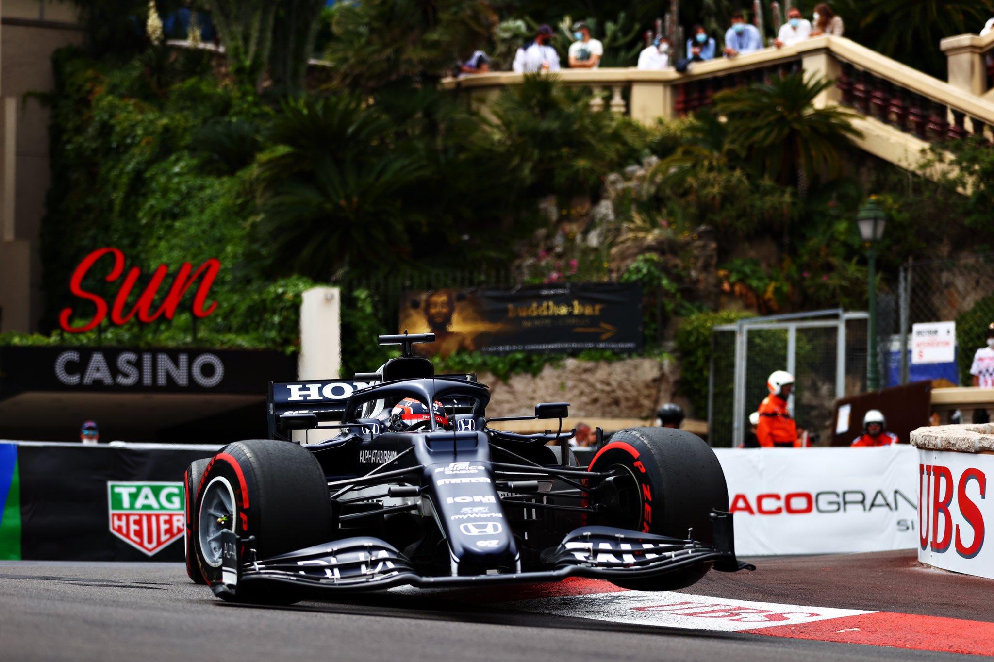 Monaco Qualifiche Alpha Tauri