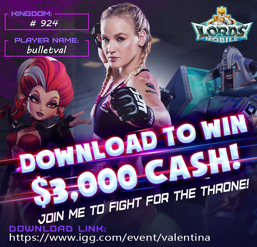Join me in the fight of @LordsMobile and win $3000 Cash and $350 game pack! Download it from the Link https://t.co/q2pd8OnnvL  Let's get the throne together!  Photo credit  @sanjaynpatel https://t.co/tNAU76rCNR