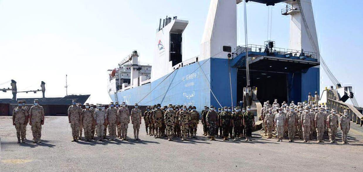 """القوات المسلحة السودانية: تدريب مشترك مع القوات المصرية تحت اسم """" حماة النيل"""" ينطلق من 26 إلى 31 مايو في السودان E2AEl72WYAc-zzB?format=jpg&name=large"""