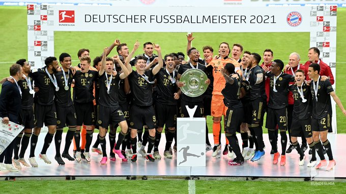 Bayern Munchen juara Bundesliga Liga Jerman 2020-2021