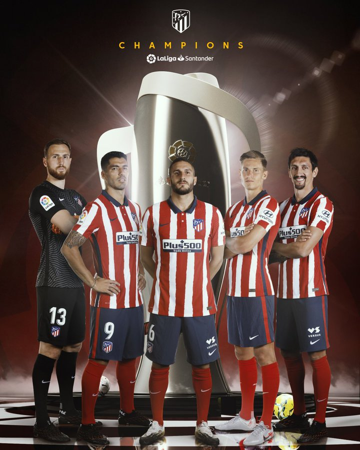 Atletico Madrid Juara LaLiga Spanyol 2020-2021