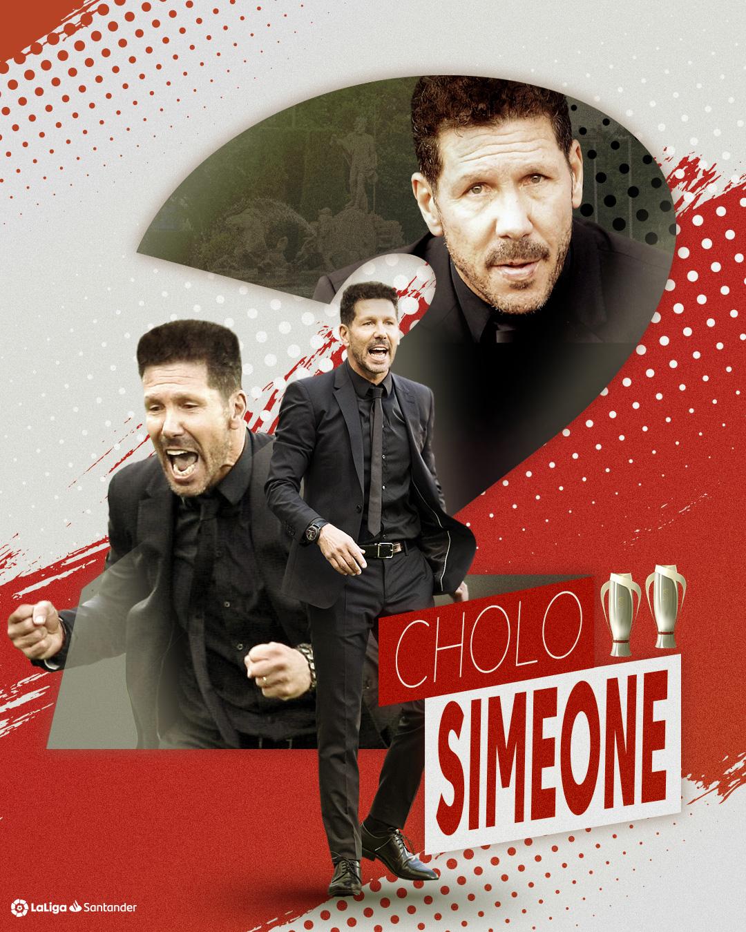 Gelar LaLiga Spanyol kedua bagi Diego Simeone