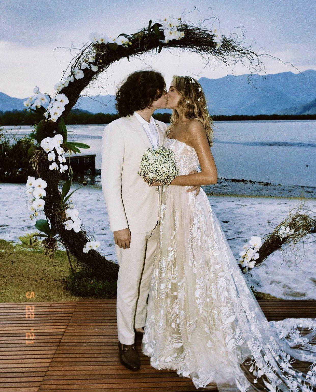 Casamento de Sasha e João Figueiredo em Angra dos Reis. Foto: Reprodução/Instagram
