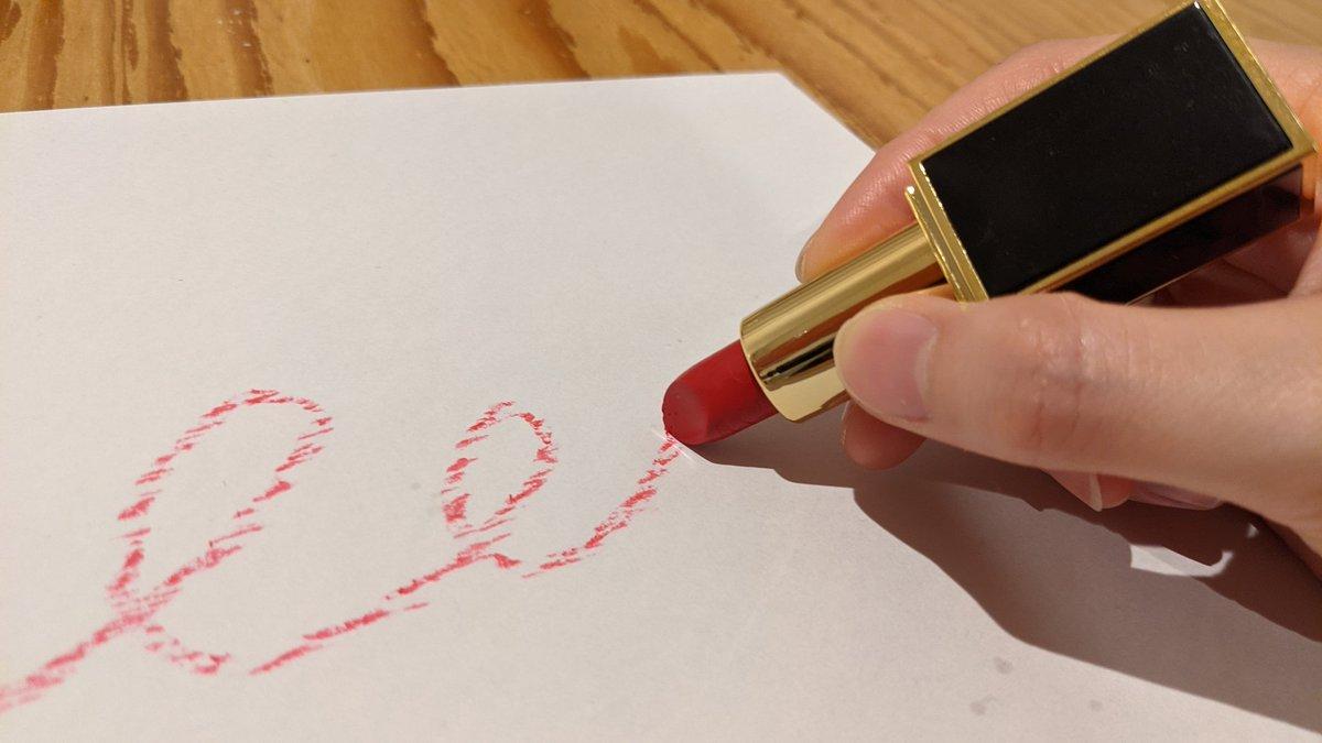子供の頃の夢が叶う!「お母さんの口紅でお絵かき」できるクレヨン爆誕!