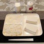 すべてが真っ白!?今日の夜ご飯は白色で統一!