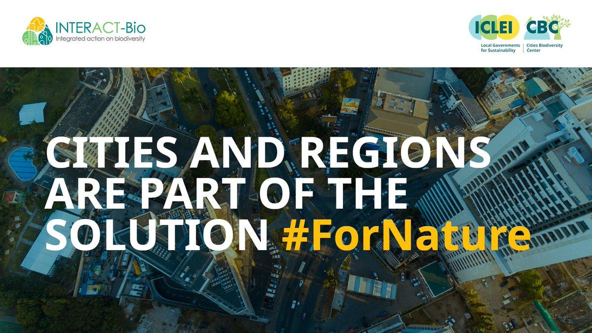 毎年5月22日は、国連が定めた「国際生物多様性の日」、地方自治体および地方自治体は、重要な役割を担っています。#INTERACTBio を通じて、タンザニア、ブラジル、インドの都市がどのように生物多様性を主流化しているかを紹介しています。 https://t.co/UScnZUrOPo