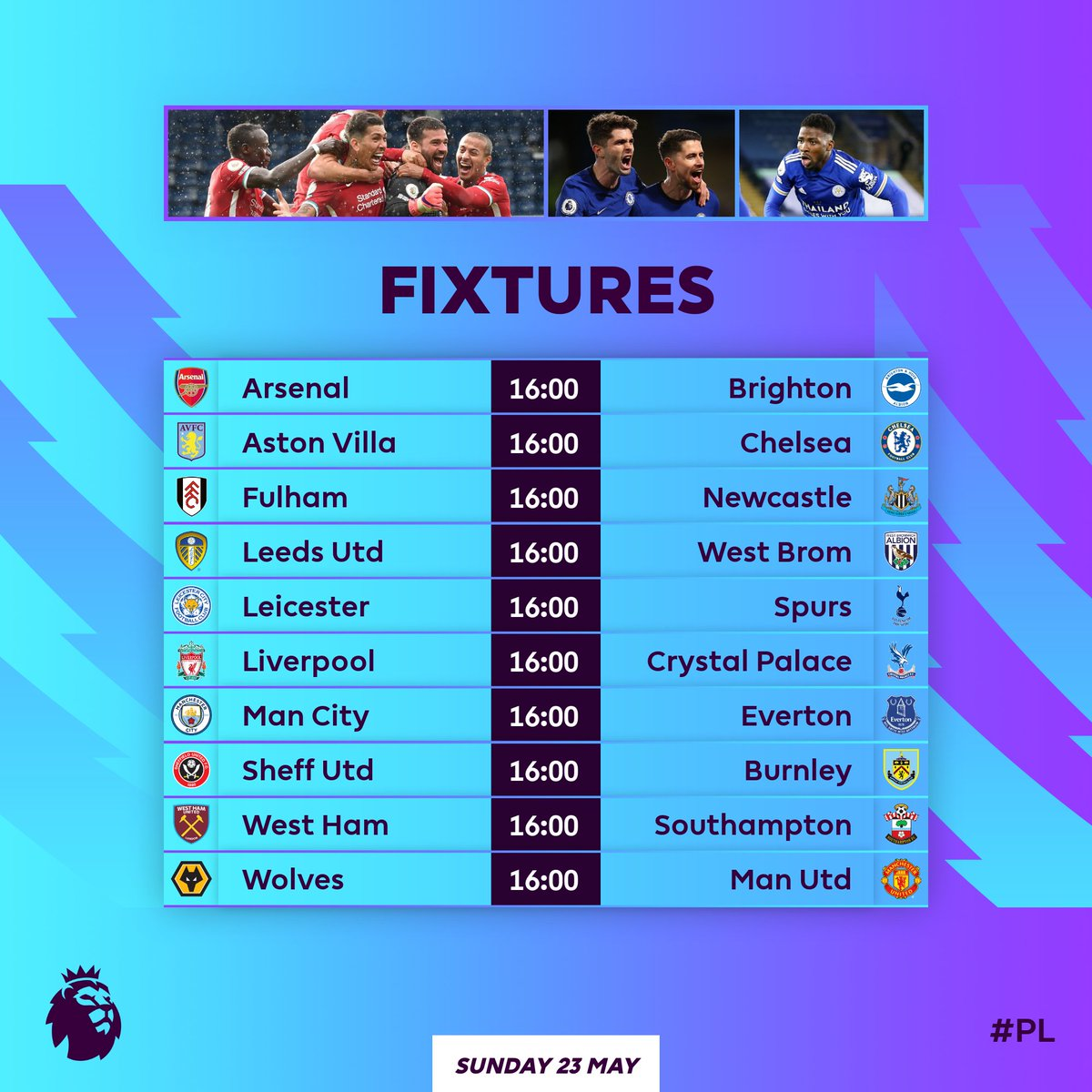 Premier League On Twitter The 𝗙𝗜𝗡ð—