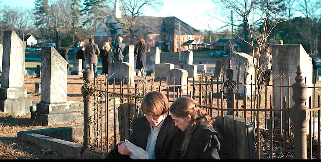 """Stranger Things 4 on Twitter: """"They were filming yesterday some scenes at  Hawkins Cemetery...😱👽🤔… """""""