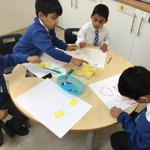 Image for the Tweet beginning: Art club Fun- exploring skills