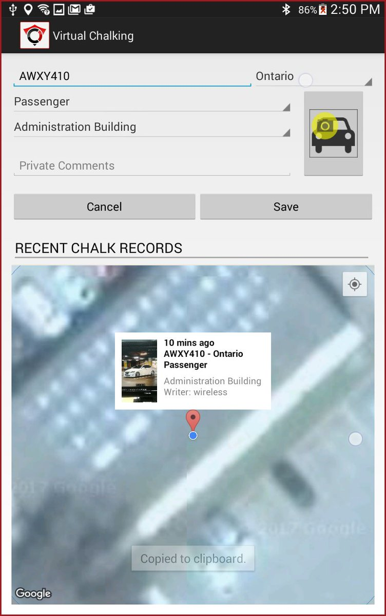 Virtual Chalking is better than traditional chalking.   GPS and photo evidence leave no room for disputes.  🚗📸🗺️ https://t.co/WcffsC9o0R   #parking #enforcement #chalking #contactless #tireChalk #OPSCOM #operationsCommander https://t.co/2qGdMEXBHJ