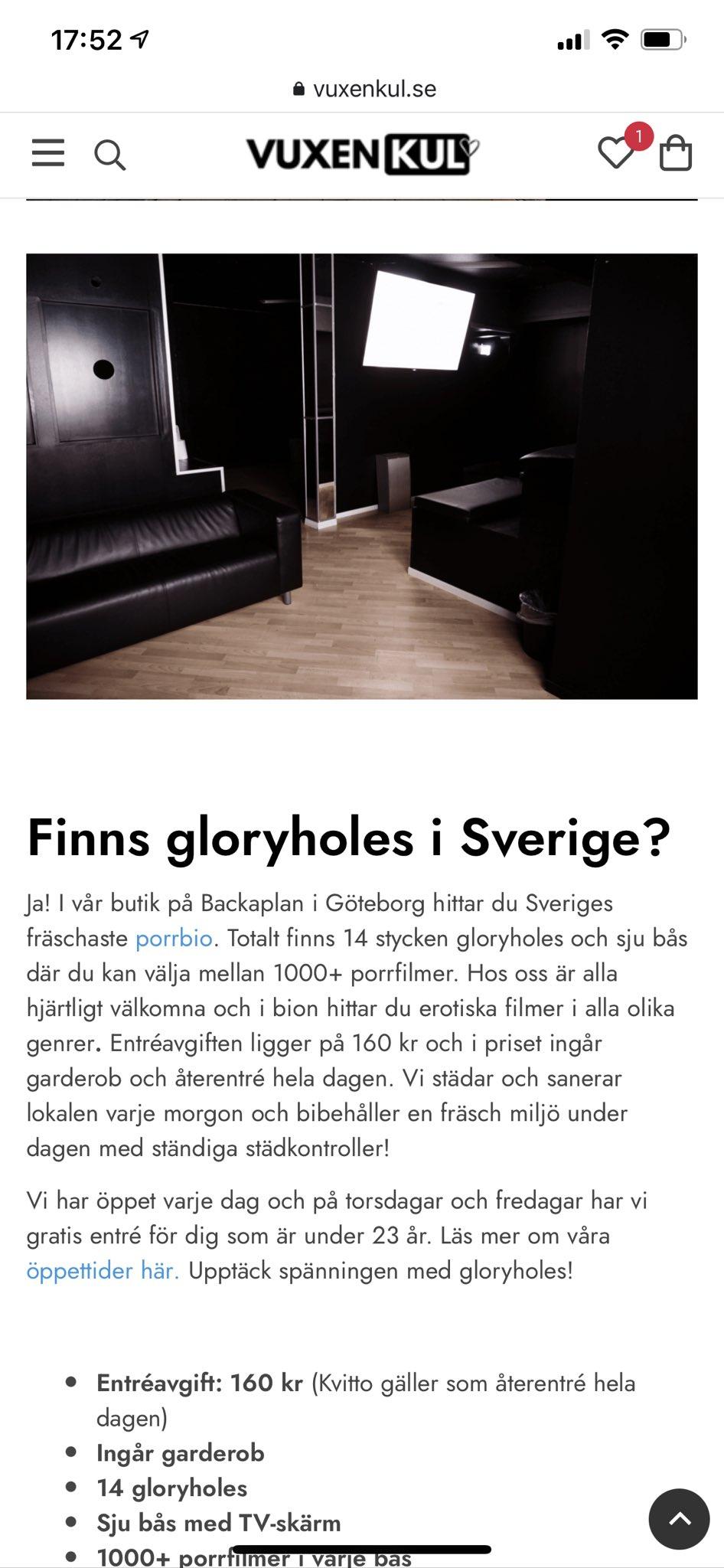 Gloryhole Göteborg