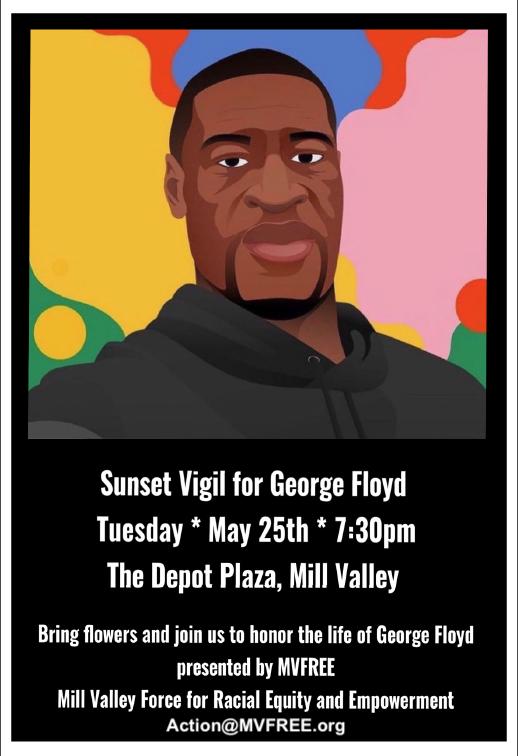 Sunset Vigil for George Floyd @ The Depot Plaza