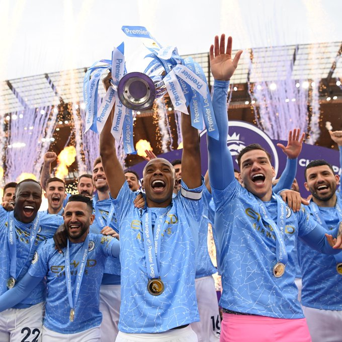 Manchester City juara Liga Inggris 2020-2021