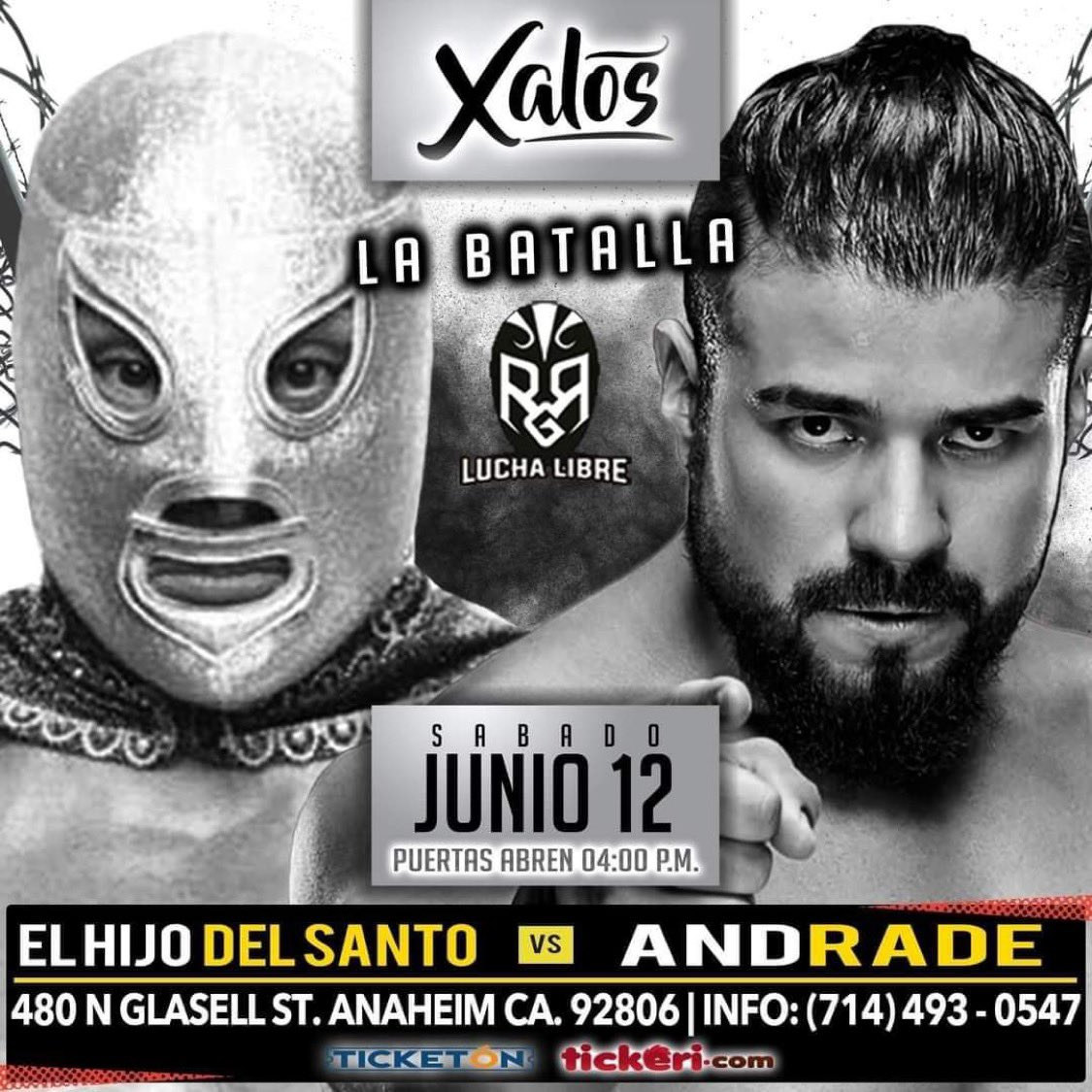 Andrade To Wrestle El Hijo Del Santo In First Match Since Leaving WWE