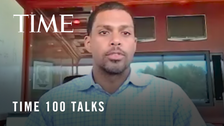 """TIME """"Jason Wright (@whoisjwright), president of the Washington Football Team, discusses rebranding and the importance of the team developing a new identity #TIME100Talks https://t.co/jf9oRJoLNh"""""""