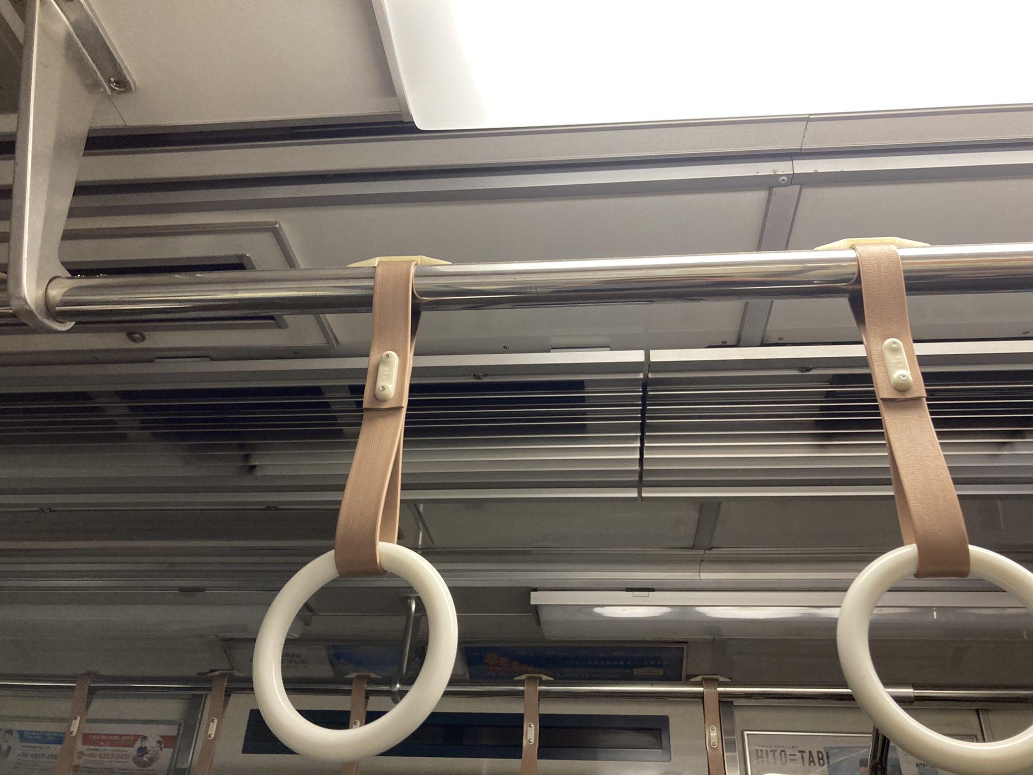 京阪本線の天満橋駅で人身事故の電車内の画像