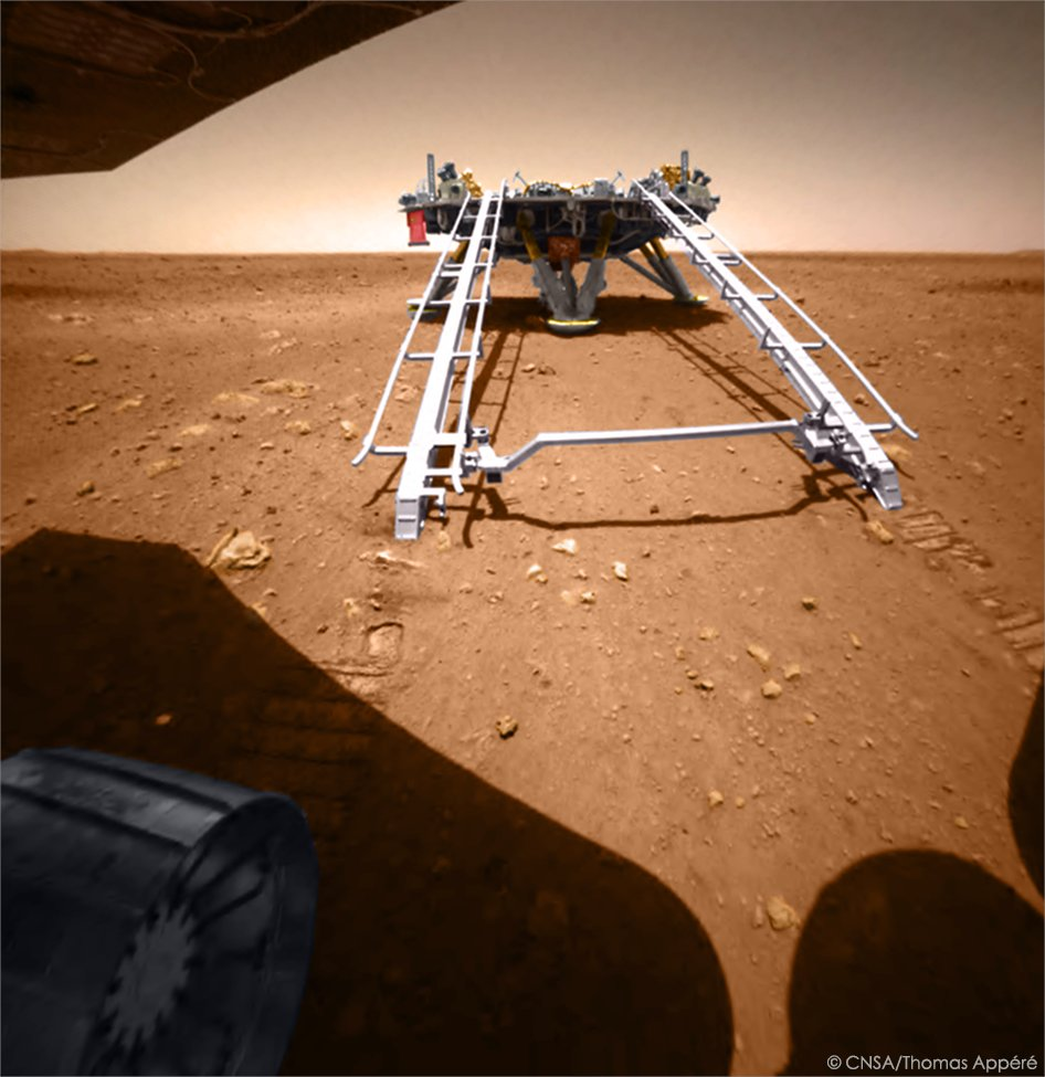 [Chine] Mission Tianwen-1 (orbiteur + atterrisseur + rover) - Page 10 E2J8CsnXMAIKe3w?format=jpg&name=medium
