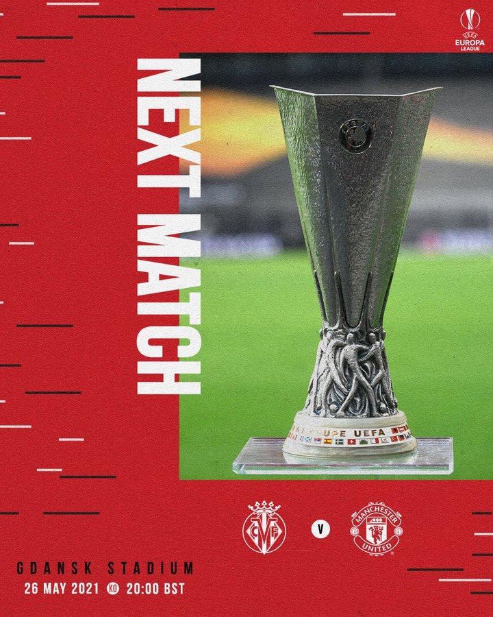 Final Liga Europa Villarreal vs Manchester United