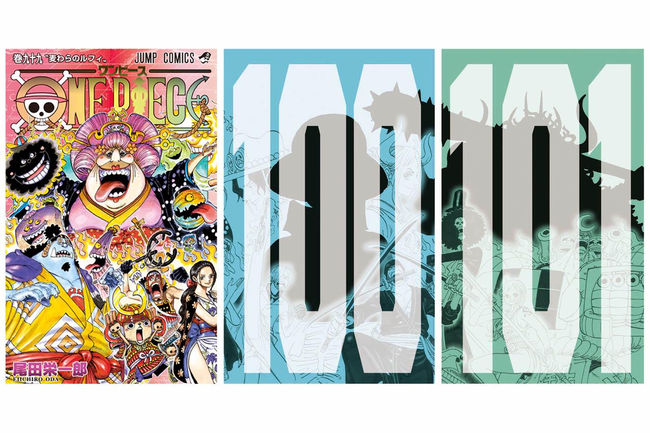 One Piece alista portadas legendarias para los volúmenes 99, 100 y 101