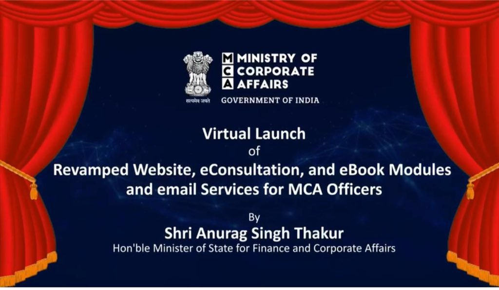 The Government of India Launches First Phase of MCA21 Version 3.0
