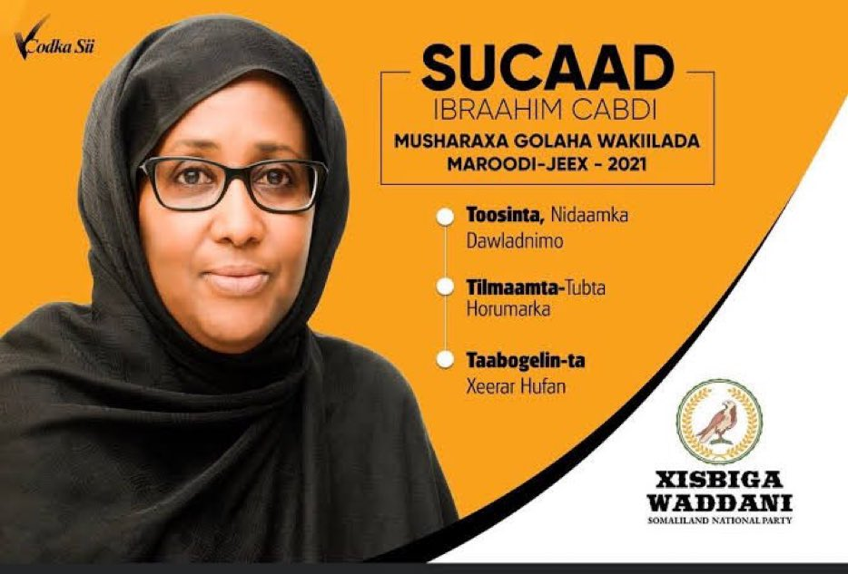 Remember! Democracy is not only about voting, it is about knowing what you want and who you can trust to deliver. This is our one chance to exercise change. Value your freedom and vote for women, women will work for you to the end. Kudos Somaliland👇🏿 https://t.co/RqO75mIERm