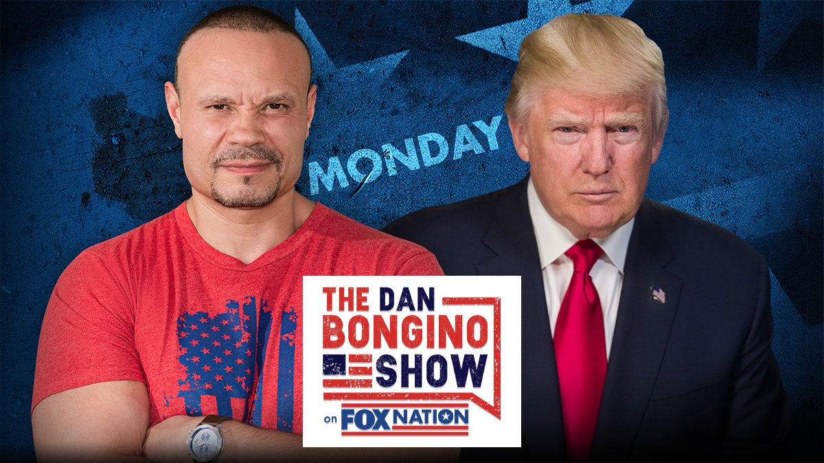 The Dan Bongino Show Interview With President Trump