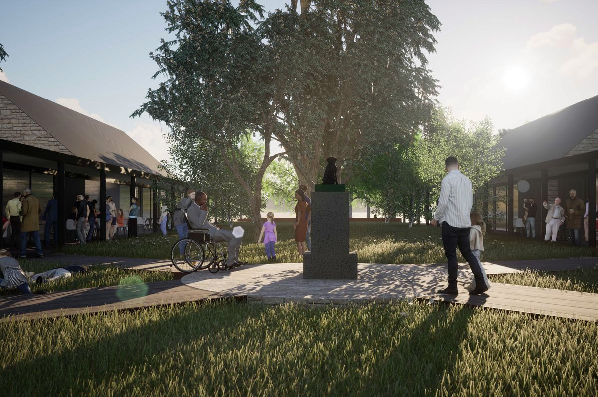 The famous Dog on the Tucker Box monument near #Gundagai is getting a #makeover, with Cox Architecture planning plans for new facilities and public space at the Hume Highway stop-off point.  #Australia #infrastructure #architecture #construction #sydneybuild #australiabuild https://t.co/iNDxu8u7dQ