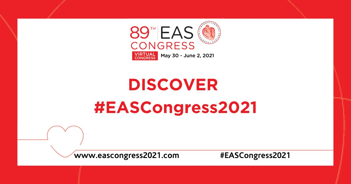 Looking forwardto all the exciting scientific updates and to connect with colleagues from around the world during #EASCongress2021! https://t.co/uVvzakCz8A