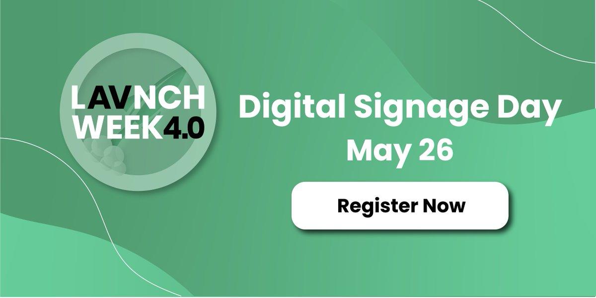 Digital Signage Day Registration