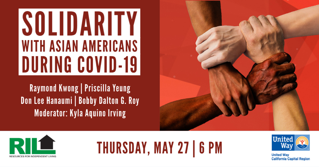 Register now for a panel discussion with Asian American disability and health advocates in the Sacramento region. Speakers include: Raymond Kwong, Priscilla Yeung, Don Lee Hanaumi, and Bobby Dalton G. Roy with moderator Kyla Aquino Irving. https://t.co/ESYdoviopT #AAPIHM2021 https://t.co/cD8hLNZHj5