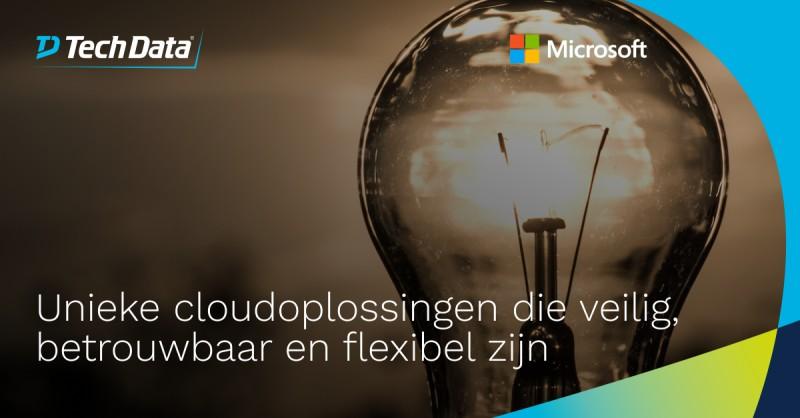 Microsoft loopt met hun cloudaanbod voorop…