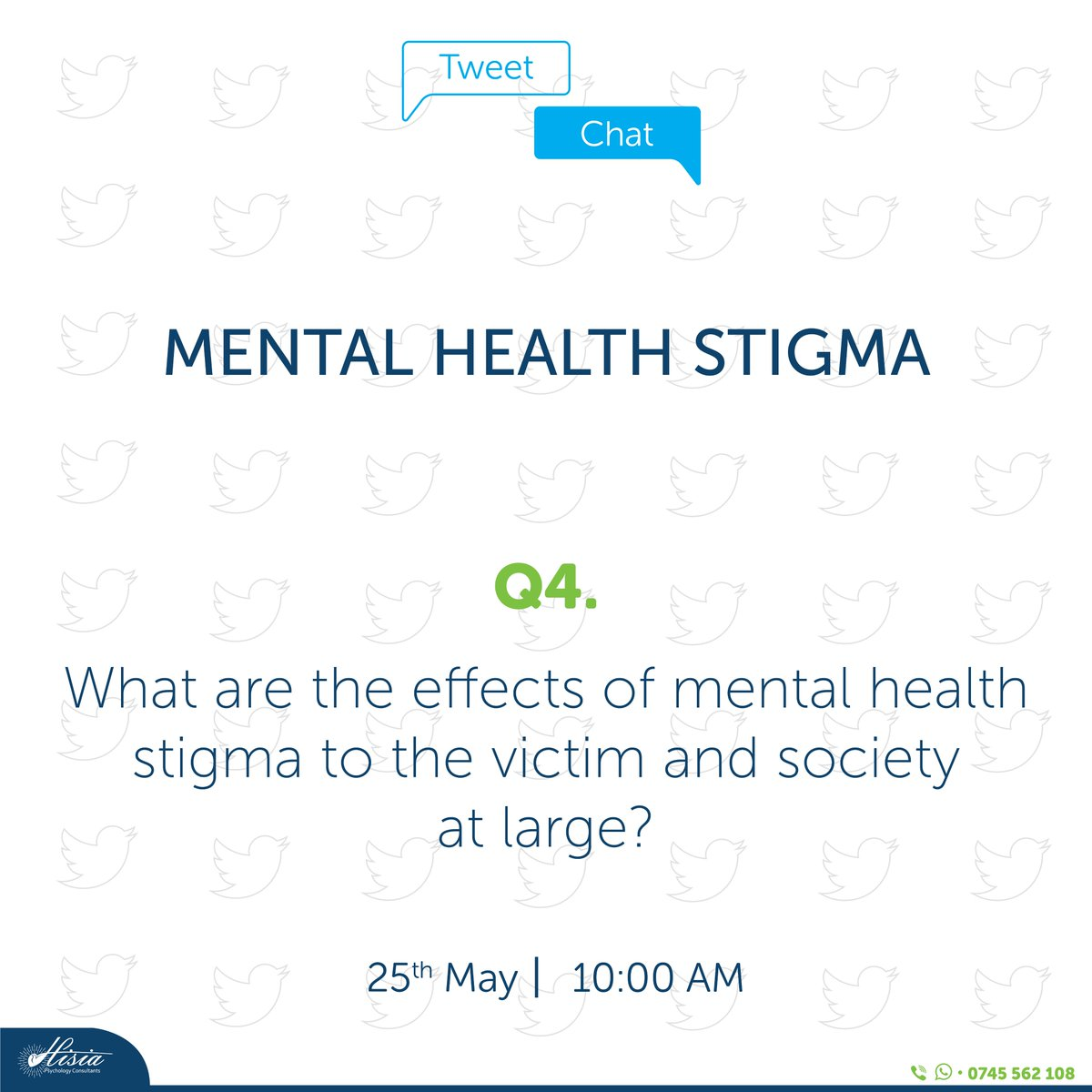 Q4: What are the effects of mental health stigma to the victim and society at large?  @MUnsilenced, @haven_mental https://t.co/wD7imMdxnM