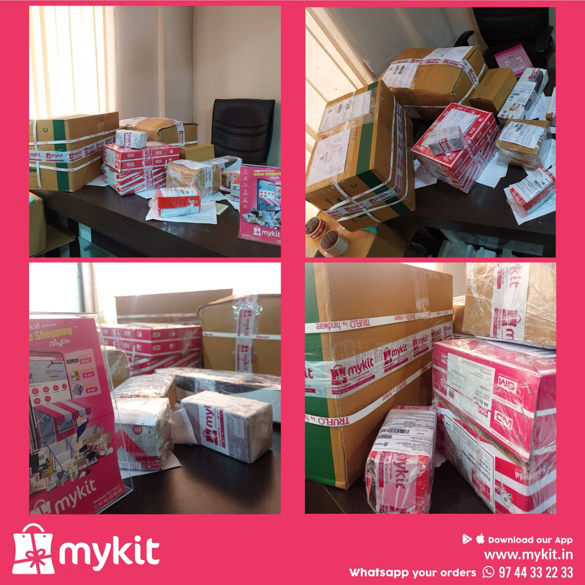 We are back with more safety precautions than ever. Trying hard to ship items on time in this pandemic situation. Took a break for your and our staff safety.  Stay Home, Stay Safe   #mykitcart #mykit #onlineshopping #lockdown #lockdowndelivery #stahomestaysafe #kannur #kerala https://t.co/G2Pzh4OlRu