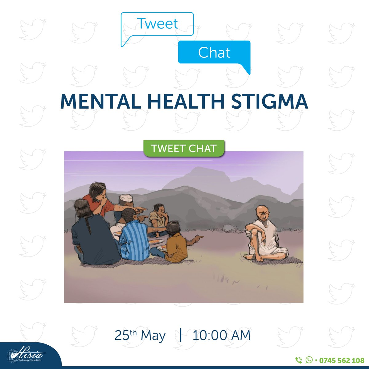 We have dedicated this month's final tweet chat to handle the Stigma that surrounds Mental Health, as May is Mental Health Awareness Month. Let's join hands and demystify mental health.  Today's guests are @MUnsilenced and @haven_mental Join us 10:00 AM for this conversation. https://t.co/yfntxVMmOM