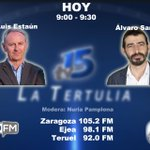Image for the Tweet beginning: #BuenosDías  Hoy en La Tertulia